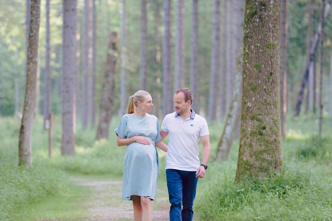 Ehepaar erwartet Nachwuchs