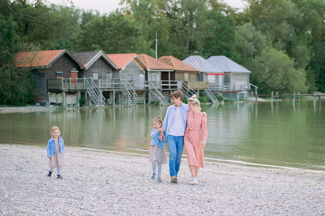 Stegen am Ammersee Familienfotograf