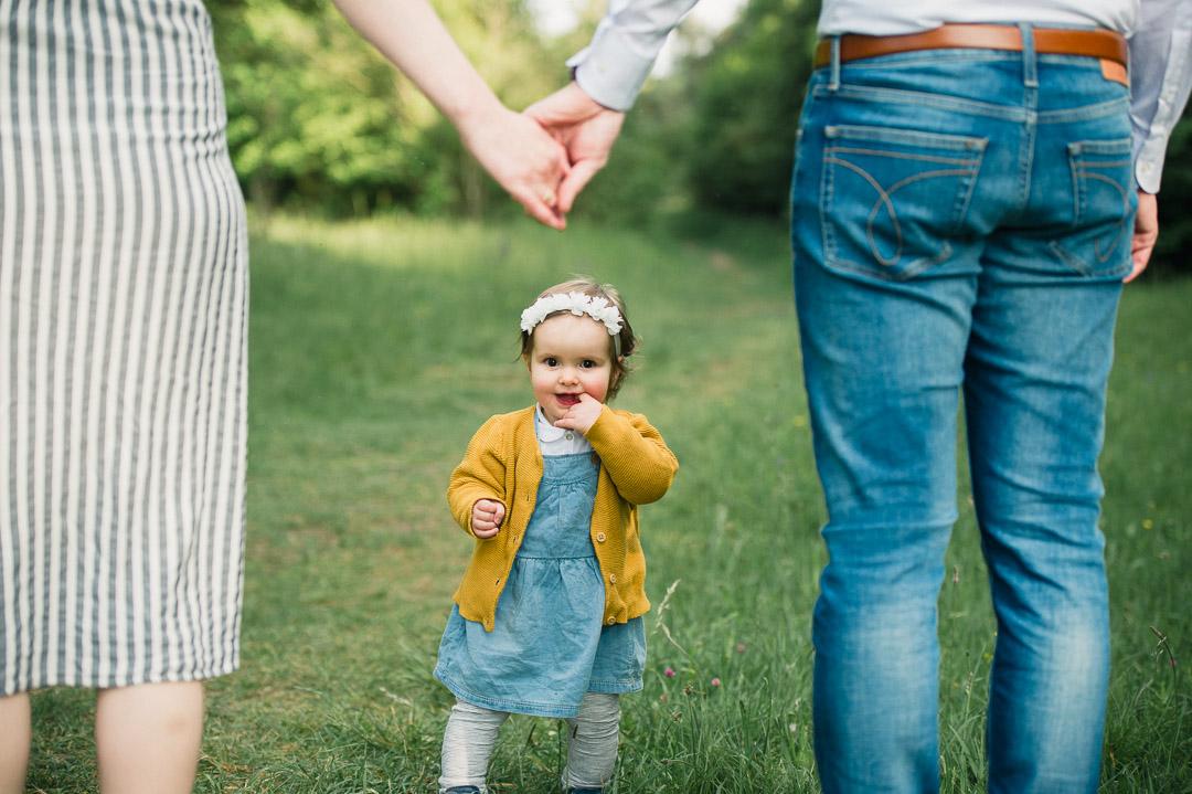 Jeanskleid für kleines Mädchen