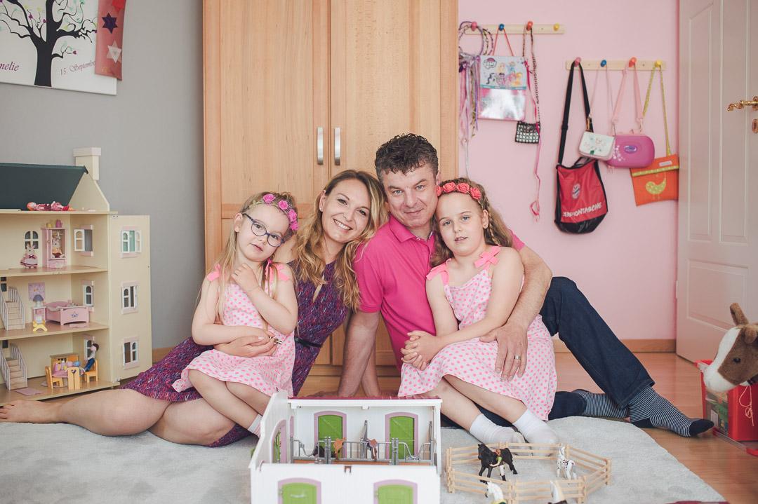 Familienbilder zuhause