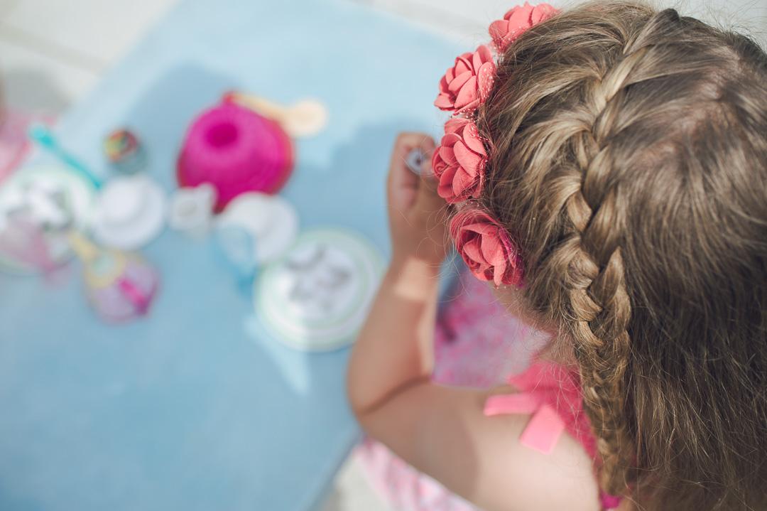 Blumenkranz für kleines Mädchen