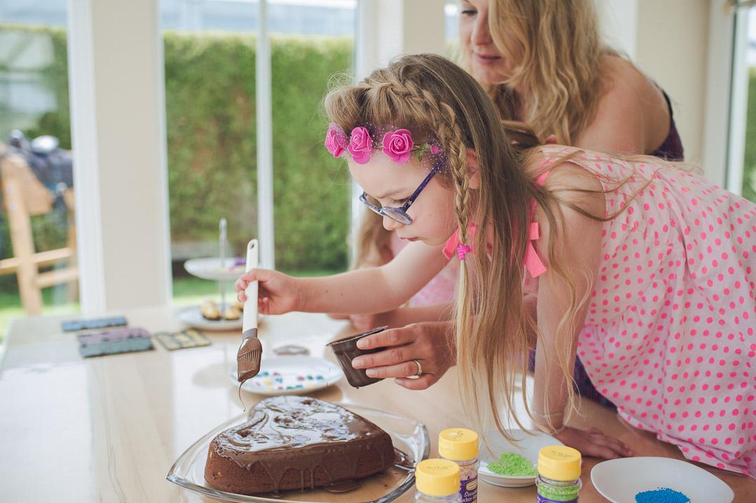 Kuchen backen zum Vatertag